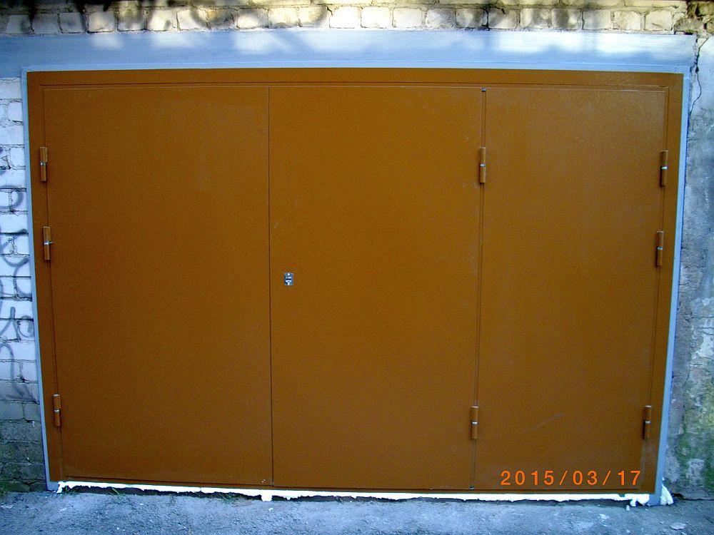 6 Metaliniai garazo vartai