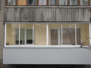 Nr.11 - Balkono stiklinimas balkono skardinimas