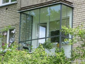 Nr.17 - Balkonu balkono stiklinimas