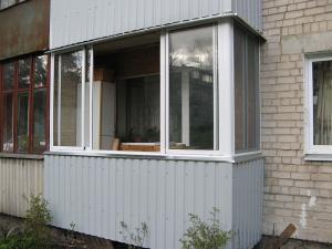 Nr.19 - Balkonu stiklinimas aliuminio konstrukcijomis