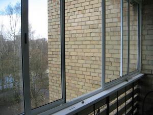 Nr.1 - Aliuminio remine slankioji balkonas