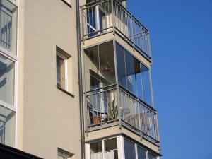 Nr.20 - Balkonu stiklinimas aliuminio stumdoma sistema