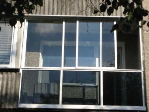 Nr.21 - Balkonu stiklinimas aliuminiu